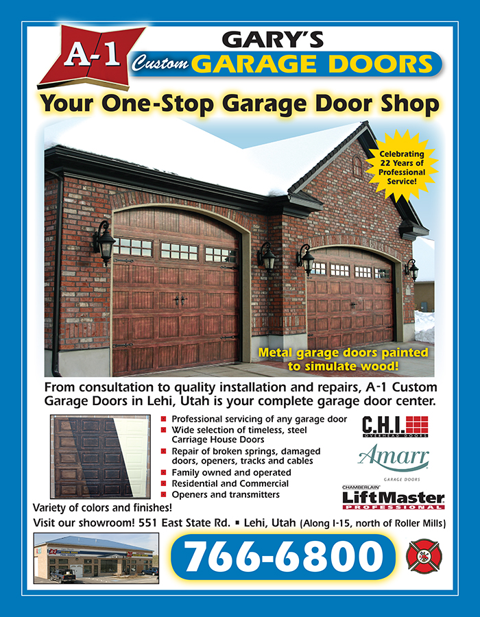A 1 Garage Door Yellow Page Ad #1