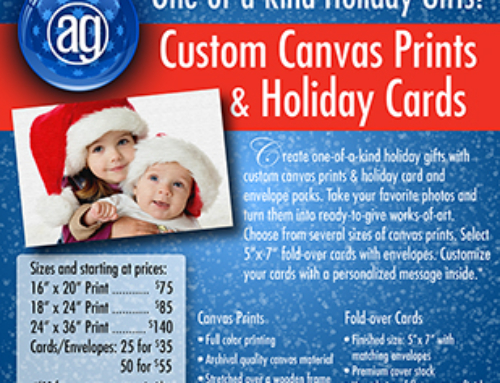 Alphagraphics Holiday Prints Flyer Design