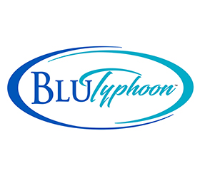 BLUTyphoon Logo Design