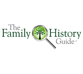 The Family History Guide Logo Design