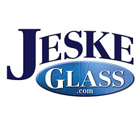 Jeske Glass Logo Design