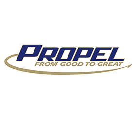 Propel Logo Design