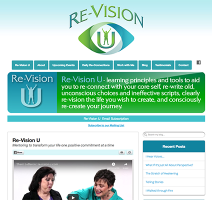Re-Vision U Responsive Website Design