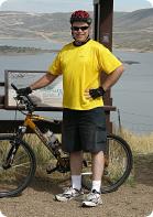 John Taylor cycling