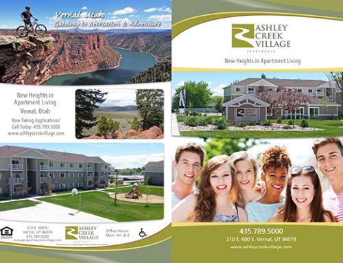 Ashley Creek Village 4-Page Portfolio Brochure