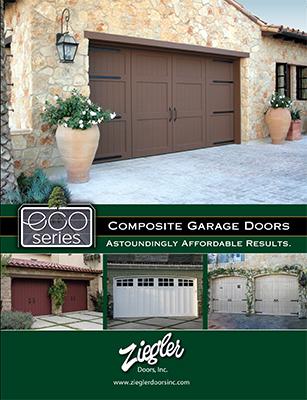 Ziegler Garage Doors 6-Panel Large Brochure Design