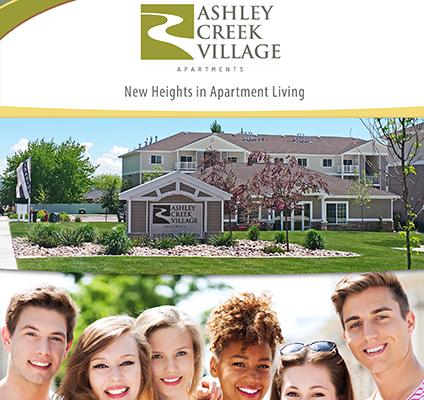 Ashley Creek Village Apartments Brochure Design