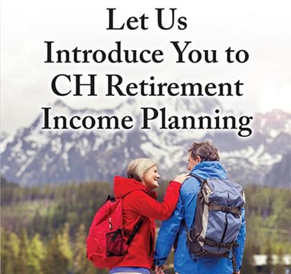 CH Retirement Income Brochure Design