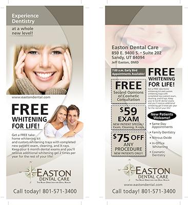 Easton Dental Care Door Hanger Design