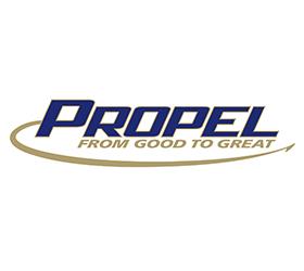 Propel Logo Design