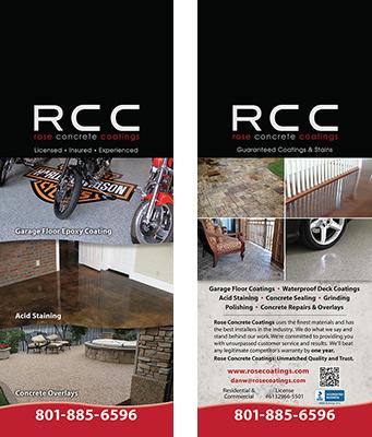 Rose Concrete Coatings Door Hanger Design