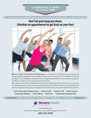 Revere Health Flyer Design