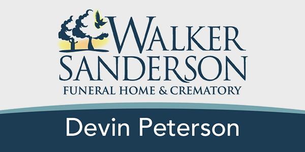 Walker Sanderson Name Badge Design