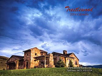2017 12-Month Trestlewood Calendar