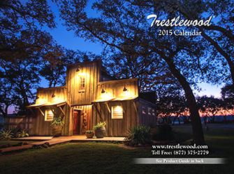 2015 12-Month Trestlewood Calendar